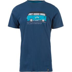 La Sportiva Van Shortsleeve Shirt Men blue